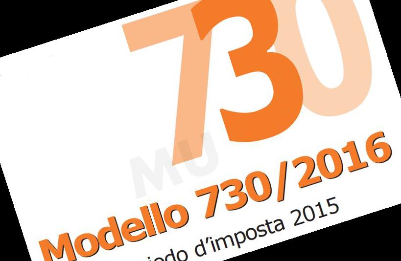 Modello 730/2016 – Ultimo aggiornamento –