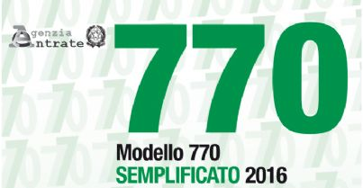 770 PROROGA PRESENTAZIONE AL 15 SETTEMBRE