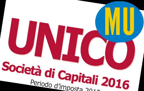 Modello Unico società capitali