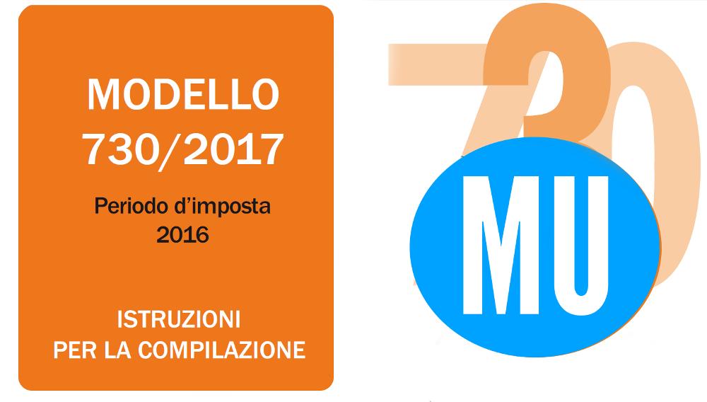 MODELLO 730-2017  ONLINE